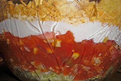Nacho - Schicht - Salat 1