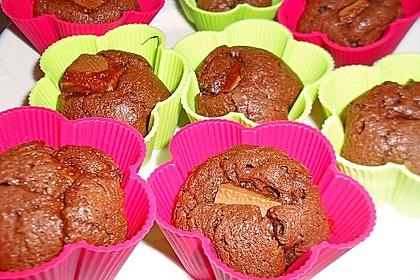 Schoko in Schoko Muffins 28