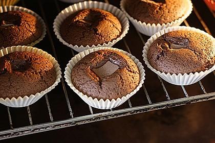 Schoko in Schoko Muffins 9
