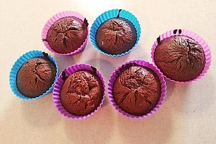 Schoko in Schoko Muffins 35