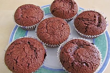 Schoko in Schoko Muffins 31