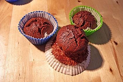 Schoko in Schoko Muffins 45