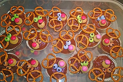 Schoko in Schoko Muffins 3