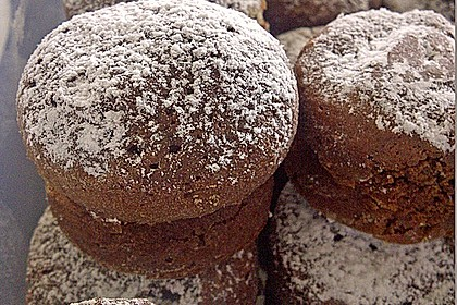 Schoko in Schoko Muffins 16