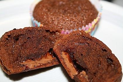 Schoko in Schoko Muffins 13