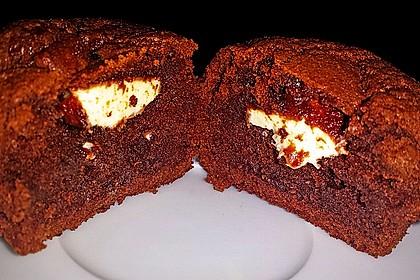 Schoko in Schoko Muffins 5