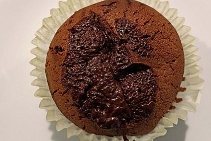 Schoko in Schoko Muffins 22