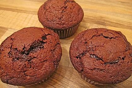 Schoko in Schoko Muffins 18