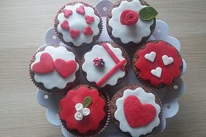 Schoko in Schoko Muffins