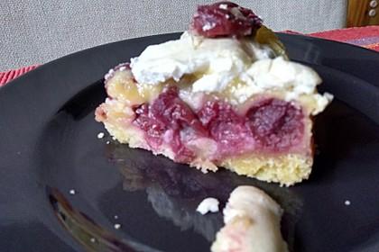Torta di ciliegie e mandorle 3
