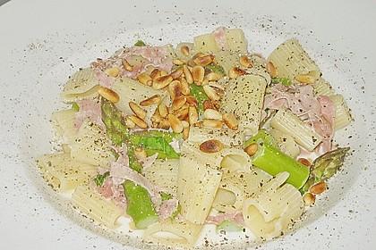 Paccheri con asparago verde 3
