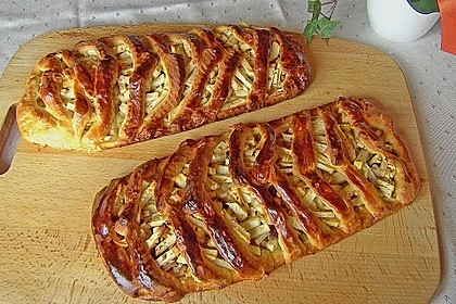 Apfelkuchen aus Hefemürbteig 70