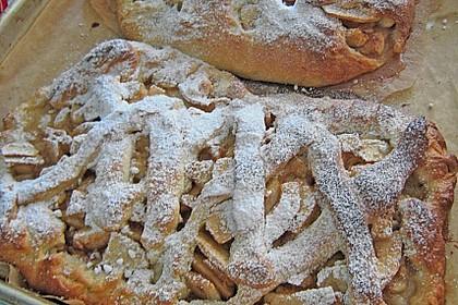 Apfelkuchen aus Hefemürbteig 105