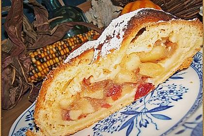 Apfelkuchen aus Hefemürbteig 73