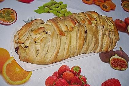 Apfelkuchen aus Hefemürbteig 121