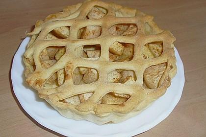 Apfelkuchen aus Hefemürbteig 110