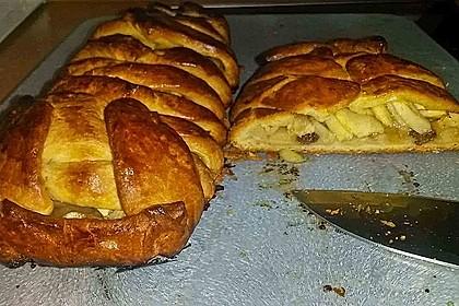 Apfelkuchen aus Hefemürbteig 60
