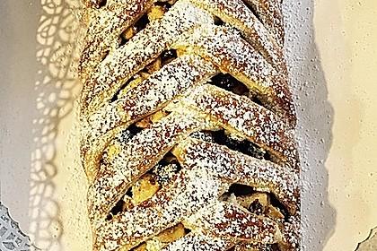 Apfelkuchen aus Hefemürbteig 58
