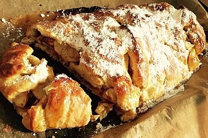 Apfelkuchen aus Hefemürbteig (Bild)