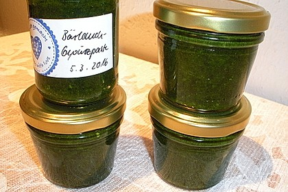 Bärlauch-Gewürzpaste 16