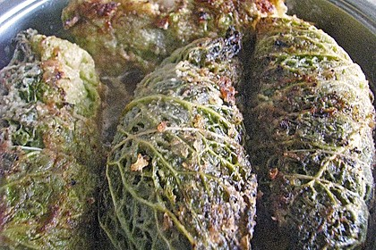 Vegetarische Kohlroulade (Bild)