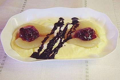Vanille - Birnen - Dessert 1