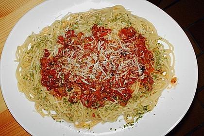 Spaghetti all' arrabbiata (scharf) 2