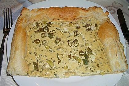 Grisous leichte Tarte à la moutarde 4