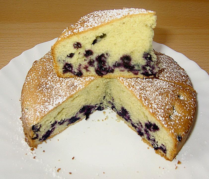 Heidelbeer Vanille Kuchen Von Happiness Chefkoch De