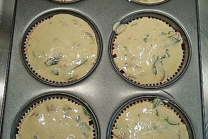 Tomaten - Basilikum - Muffins 2