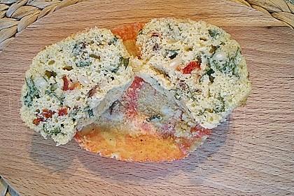 Tomaten - Basilikum - Muffins 1