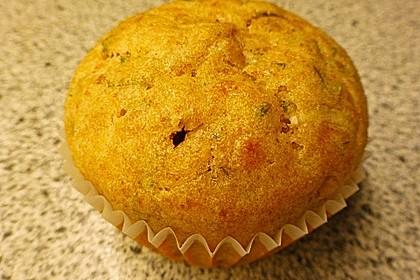 Tomaten - Basilikum - Muffins 3