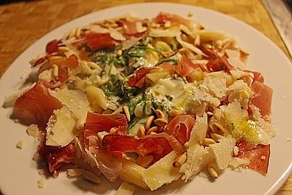 Pappardelle mit Parmaschinken