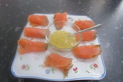 Honig - Senf - Dill - Soße 1