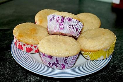 Kokos - Muffins 2