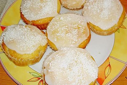 Kokos - Muffins 3
