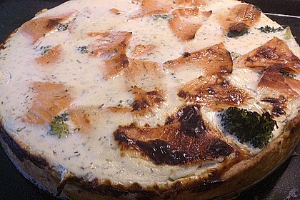 Brokkoli - Lachs - Quiche 11