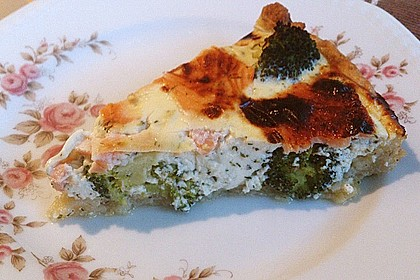 Brokkoli - Lachs - Quiche 7