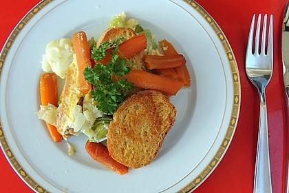 Gemüsescheiterhaufen (Bild)