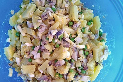 Fischsalat mit Bismarckheringen