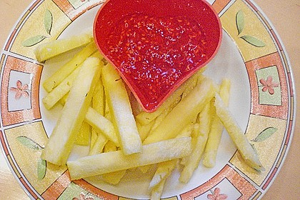 Ananas - Fritten mit Himbeer - Ketchup 13