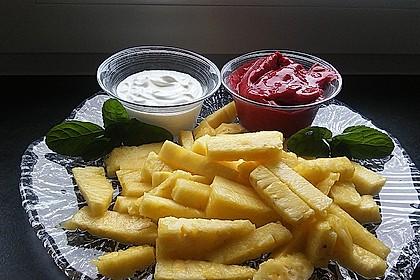 Ananas - Fritten mit Himbeer - Ketchup 5