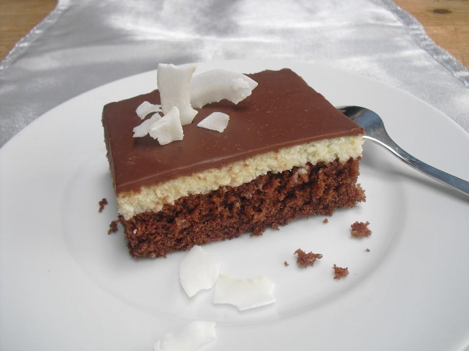 Kokos Bountykuchen Vom Blech Von Raubermama72 Chefkoch De