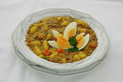 Kartoffel-Curry mit Linsen 3