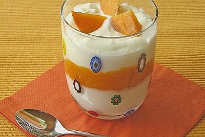 Kaki - Joghurt - Mousse 2