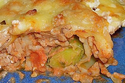Cannelloni mit Porreefüllung