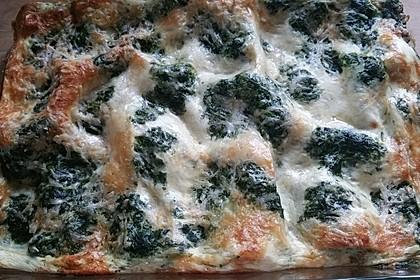 Rahmspinat - Lasagne 1