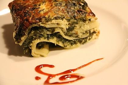 Rahmspinat - Lasagne