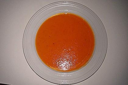 Möhren - Kartoffel - Paprika - Cremesuppe