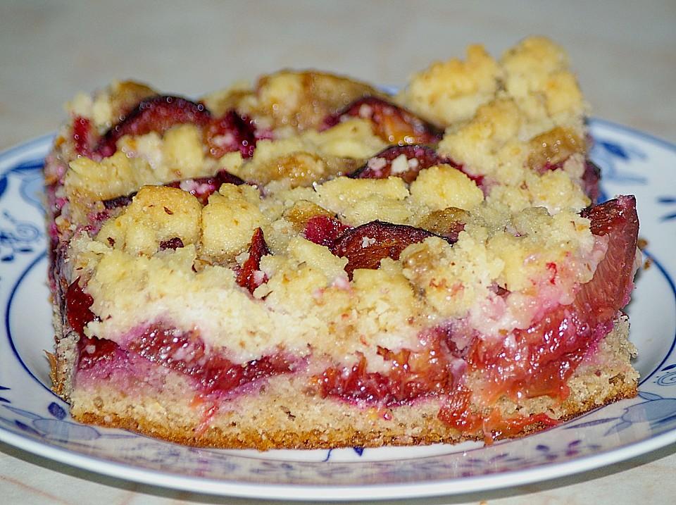 Zwetschgenkuchen Mit Streusel Von Julisan Chefkoch De